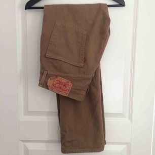 Tan/brown Levi's 501 31x30  Will deliver in Stockholm or ship at buyers expense
