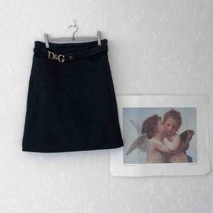 Snygg vintage Dolce & Gabbana jeans kjol⭐️☀️ 65kr frakt