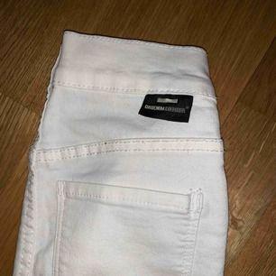 Oanvända dr denim byxor i storlek XS! Frakt: 39kr