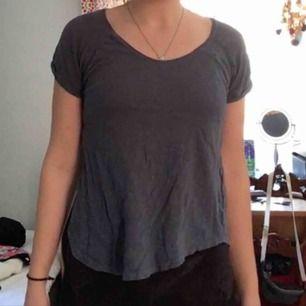 Blå tröja från Gina Tricot. Köpt för länge sedan och sedan bortglömd. Skriv gärna om du har frågor☺️🌸