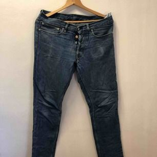 Our legacy jeans i snygg, lite ljusare blå tvätt