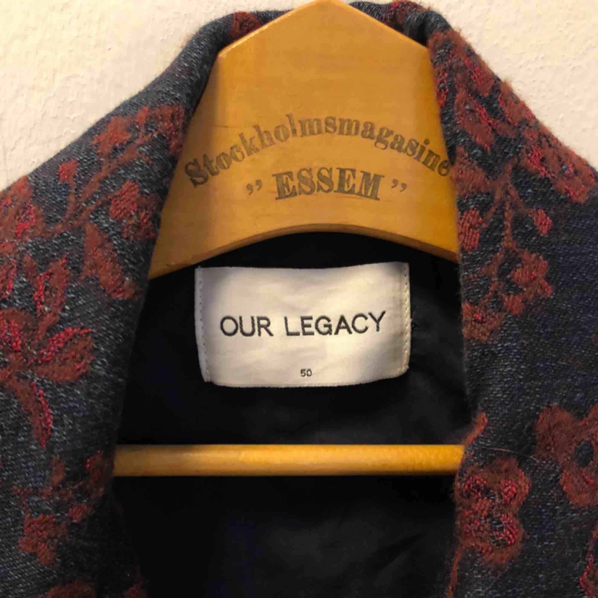 Underbar paisleymönstrad jacka i ull från Our legacy. Jackor.