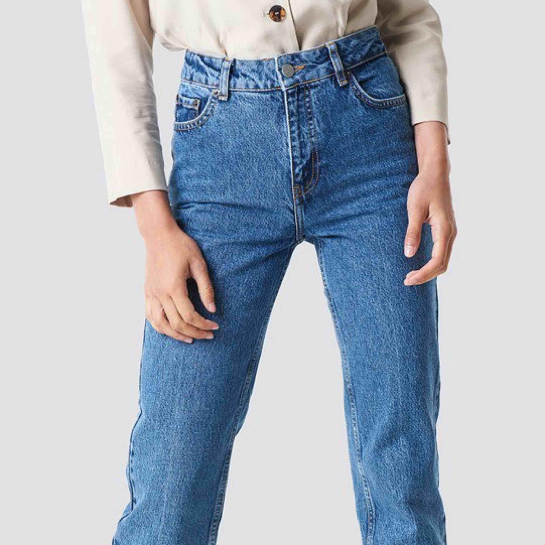 Front Pleat Jeans Blue. Sjukt bekväma och snygga. Snygg rumpa också . Jeans & Byxor.