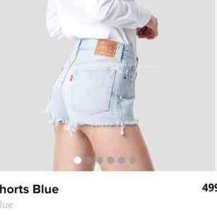 Ny Levi's jeansshorts. Storlek är W26. Original priset är 499 kr. Aldrig använd!