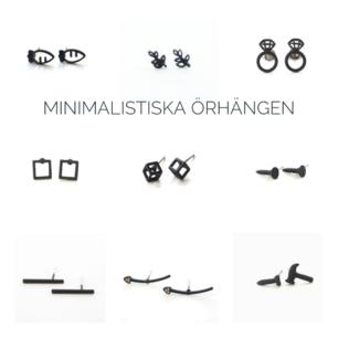 söta minimalistiska örhängen  finns olika•kan skicka mer bilder 35kr/par