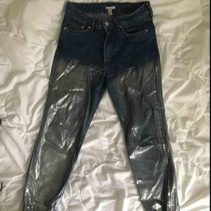 Jeans med en silverombre! ✨