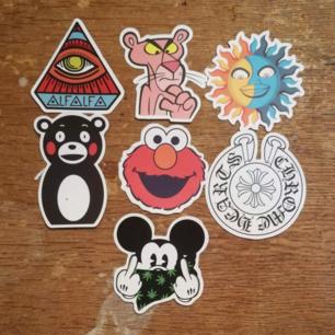 7 fina stickers för 40kr + frakt. köp fler och få ett billigare pris!!!