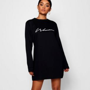 Woman sweatshirt/sweatdress from Boohoo. Helt ny med prislapp kvar, aldrig använd.