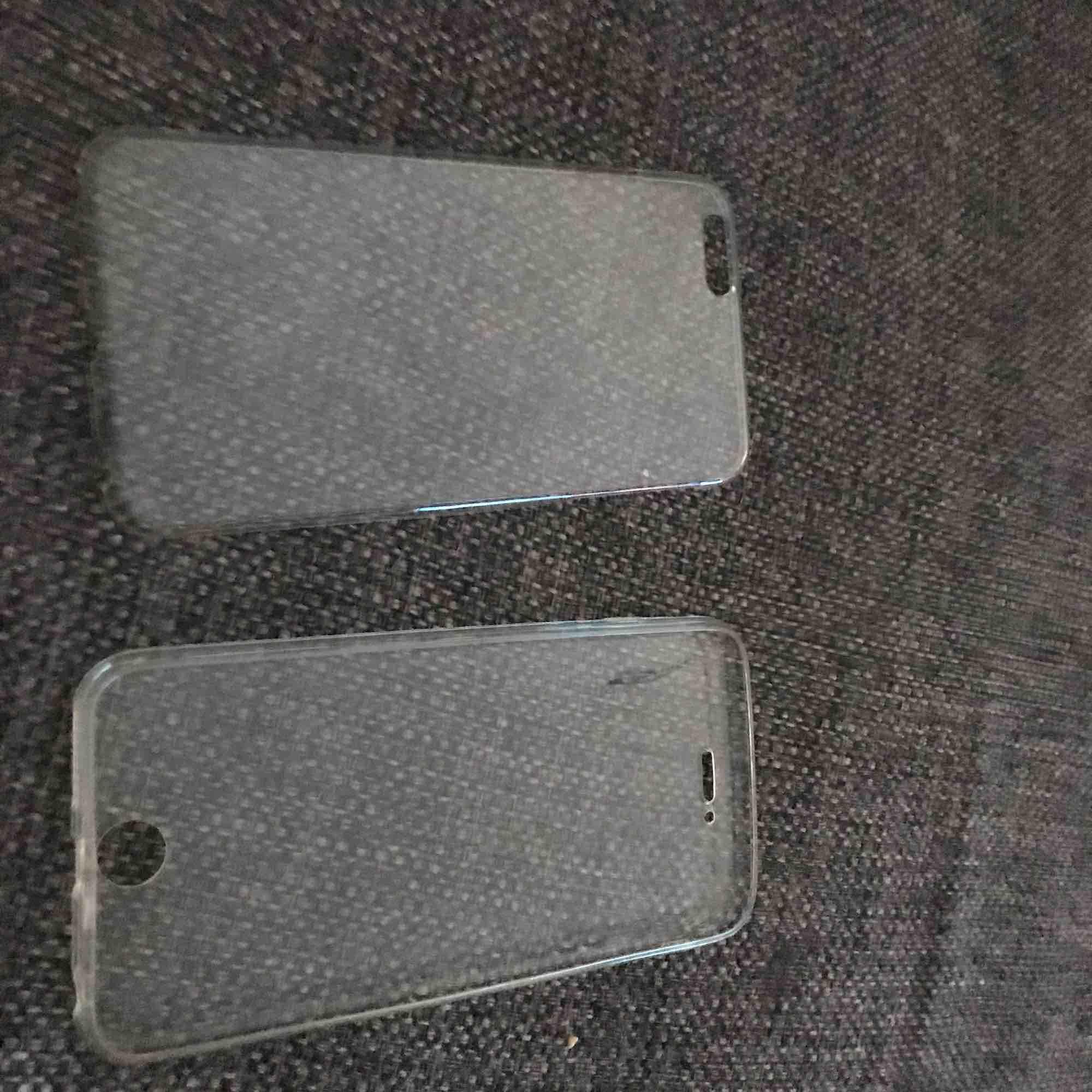 Här är ett iPhone 6+ heltäckande skal som skyddar både framsida och baksida det kostar 30kr och köparen står för frakt. Övrigt.