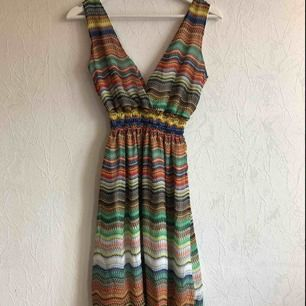 Somrig och fin boho-klänning! Aldrig använd!✨