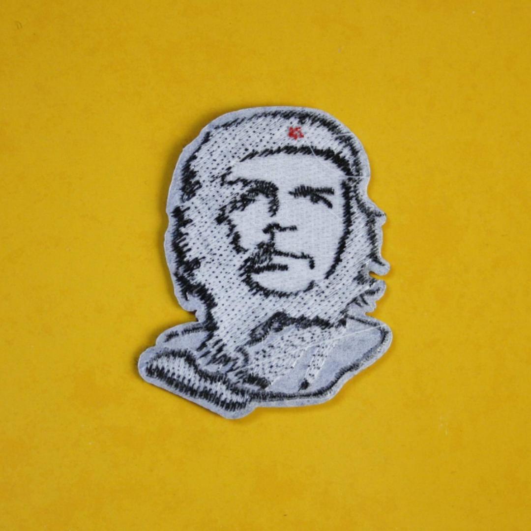 Patch med Che Guevara på, ca 7x4,5 cm. 29kr INKL frakt . Övrigt.