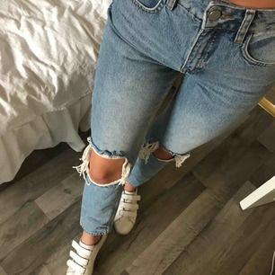Ett par supersnygga jeans från NAKD. Aldrig kommit till användning så som nya! Kan skickas mot fraktkostnad