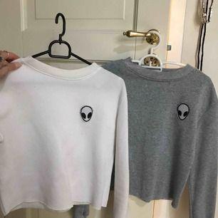 2 croppade tröjor 🦋 båda för 160 ink frakten ✨