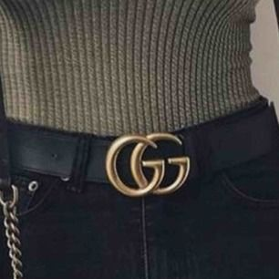 Gucci skärp (a-kopia) . Storlek: S . Köparen står för frakten - 50kr
