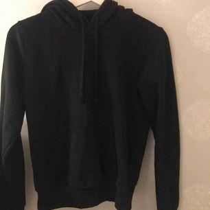 Snygg basic svart hoodie! Fint skick🥰