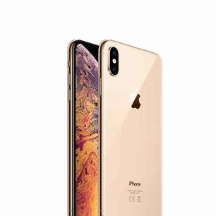 iPhone XS MAX 256gb gold Helt ny oöppnad. Färg: Guld Endast avhämtning, postar ej då det kan bli slarv med posten.