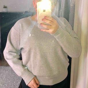 Grå sweatshirt från Ralph Lauren, nypris 599 kr. Använd 1 gång, väldigt bra skick. Liten i storleken.