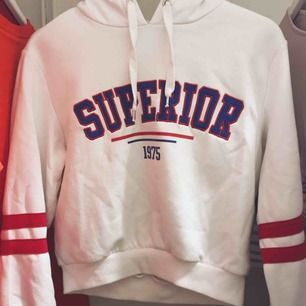 Hej! Säljer denna fina hoodie från hm, den är använd men i fint skick. Om du undrar något är det bara att ställa frågor. Frakt: 40kr