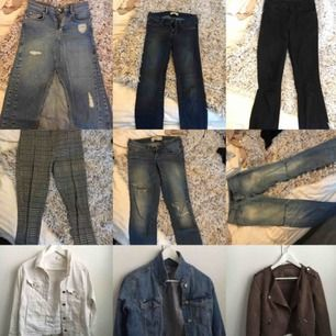 Svarta flowy vida byxor i tunt - Jeans   Byxor - Second Hand 73cb39f2ec9f0