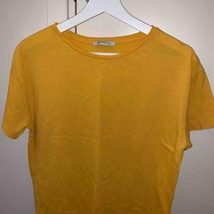 En T-shirt från zara härlig färg storlek m men sitter bra som en S. Knappt använd, köparen står för frakten📦☺️