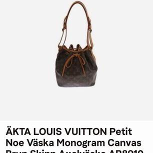 Snygg äkta Louis Vuitton väska, vintage. Inköpt från Tradera för ett år sedan.