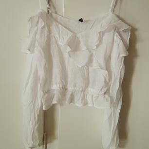 Fin vit blus från hm. Betalning via swish.  Köparen står för frakt.