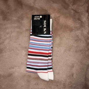 Coola randiga strumpor i 'vanlig' modell 💫