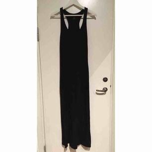 Svart långklänning Storlek XS  Hämtas u Bromma eller skickas. Köparen står då för frakt