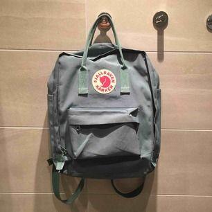 Fjällräven ryggsäck,  Mintgrön Mycket bra skick Sällan använd