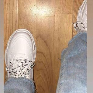 02686b729a2 Svart sko i skinnimitation med - Skor - Second Hand