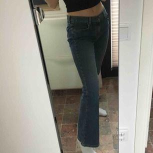 Bootcut Tommy jeans. Ger en fin rumpa :) Passar förmodligen dig som har 25 eller 26 i jeans!