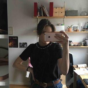Från zara superbra skick stickad T-shirt
