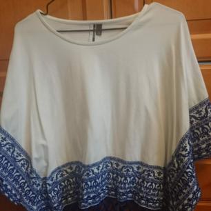 Vacker unik tröja från top-shop blå/vit