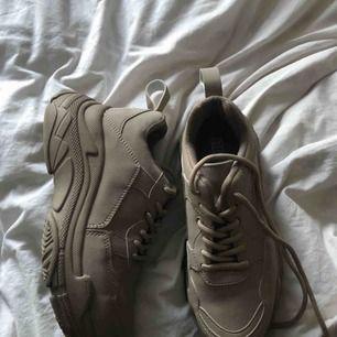As snygga chunkey sneakers ifrån Nelly. Aldrig använda.