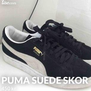 Supersnygga sneakers från puma som tyvärr inte kommer till användning🌸 betalning via swish & frakten är inklusive priset☺️ säljer för 350 och inte 450 som det står på bilden!