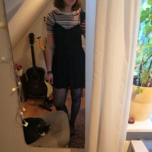Svart klänning från HM. Köparen står för frakt. Jag tar swish. Katten är dock inte till salu ;)