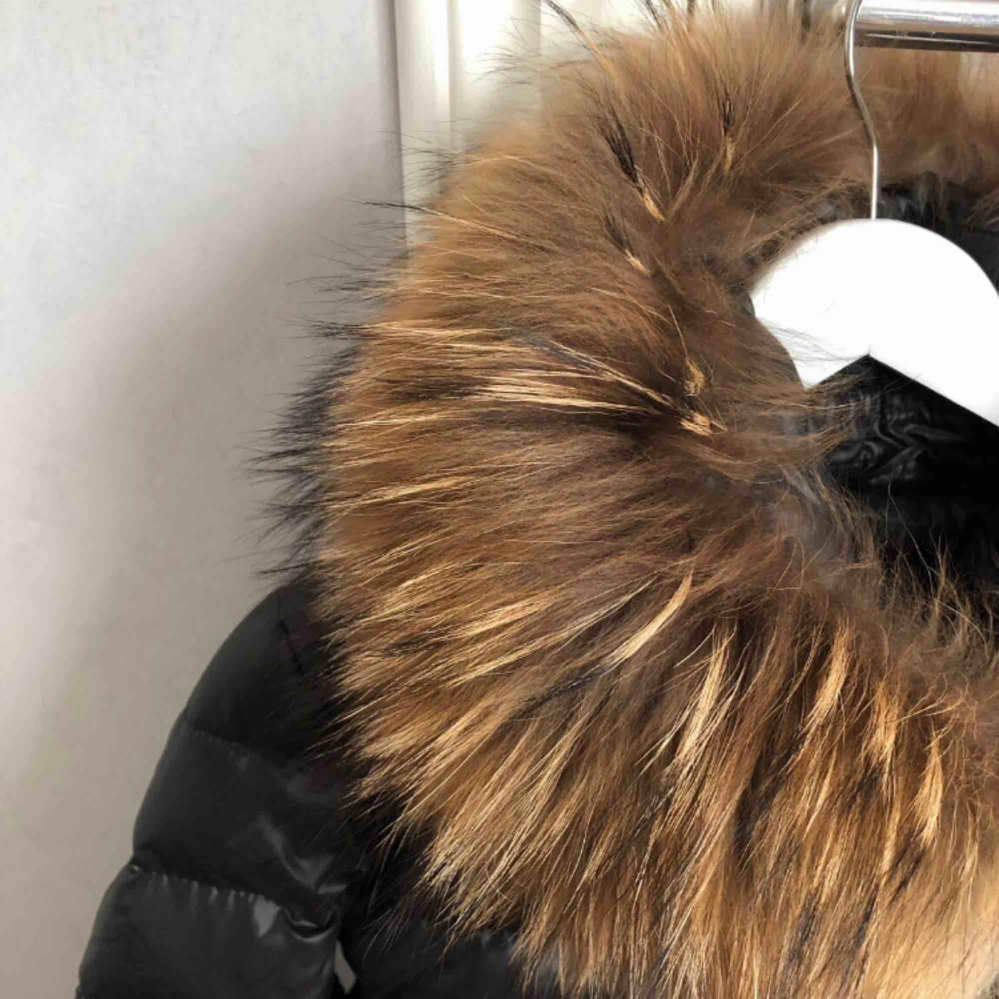 Vinterjacka med äkta minkpäls Använd max 5 gånger, som ny Köpt denna vintern. Jackor.