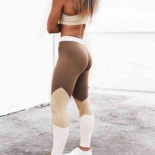 Säljer dessa träningstights från bring sportswear i storlek S💞 Frakt 39kr