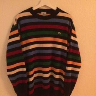 Lacoste multicolor crewneck. Vintage