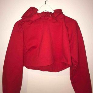En en snygg röd hoodie!! Från urban outfitters!