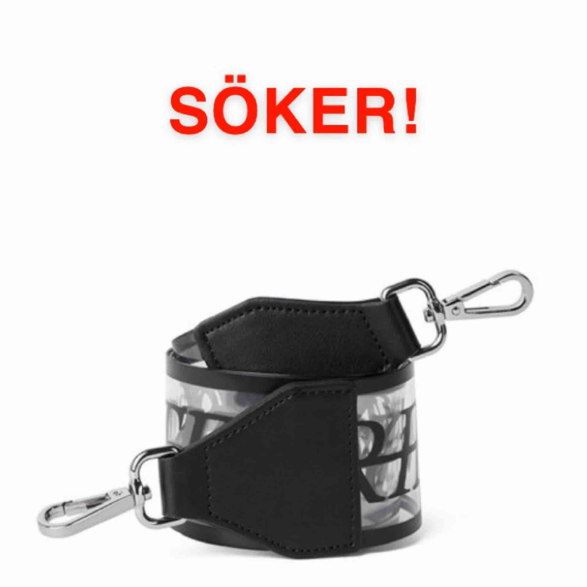 Söker Carin Wester axelrem transparent :). Accessoarer.