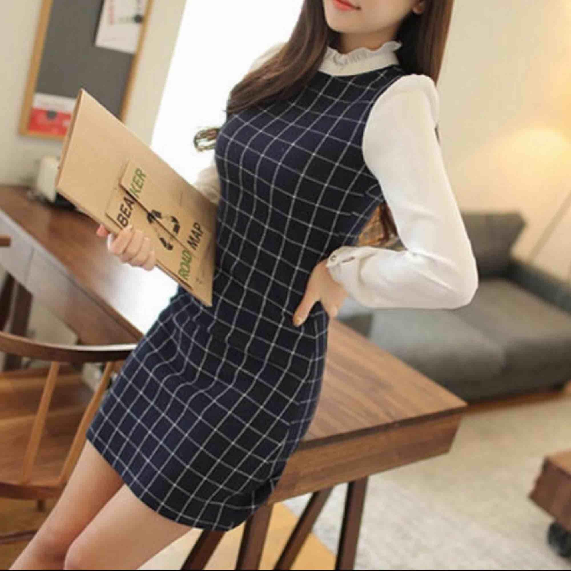 Jättefin klänning i strl S, endast provad!. Klänningar.