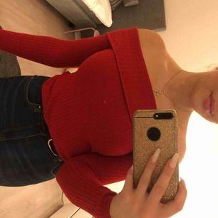 off-shoulder tröja från Hm!