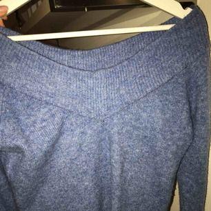Blå stickad tröja från Hm🥰🥰