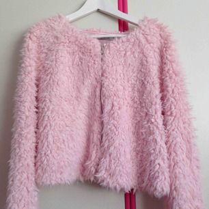 Gina Tricot faux fur jacka