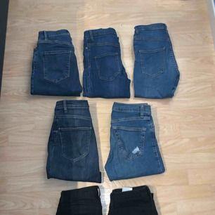 Jeans, 150kr styck Från olika märken