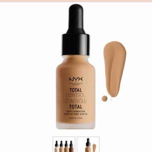 Nyx total control drop fondation i färgen clasic tan (testad en gång) 😜