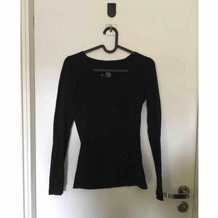 Basic svart tröja. Perfekt att ha under en annan tröja!