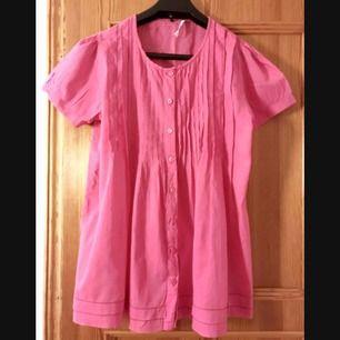 rosa blus strl 40 från flash , 100% bomull