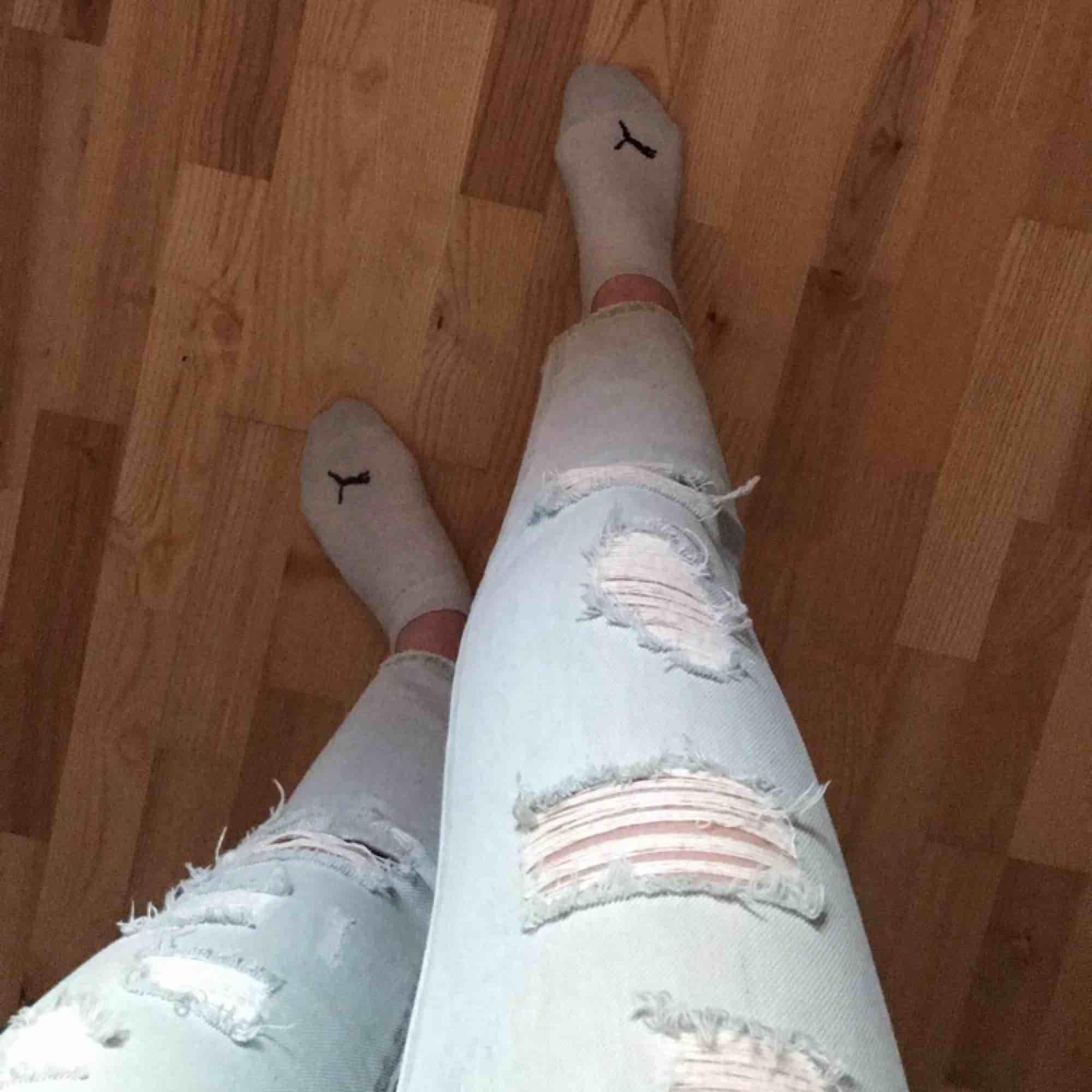 Priset är inkl frakt Mom jeans med slitningar. Jeans & Byxor.